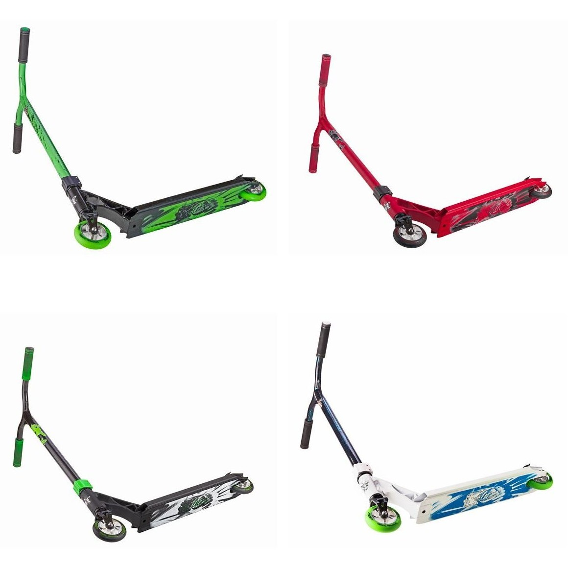 2017 Grit Fluxx complete scooters