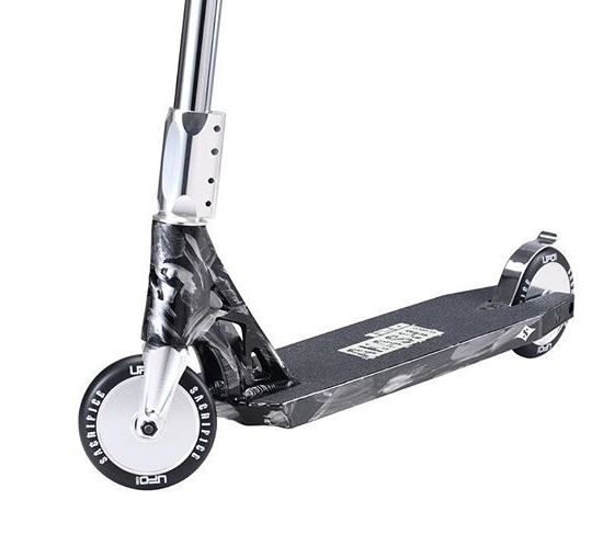 Sacrifice Akashi 120 Complete Scooter Liquid Silver
