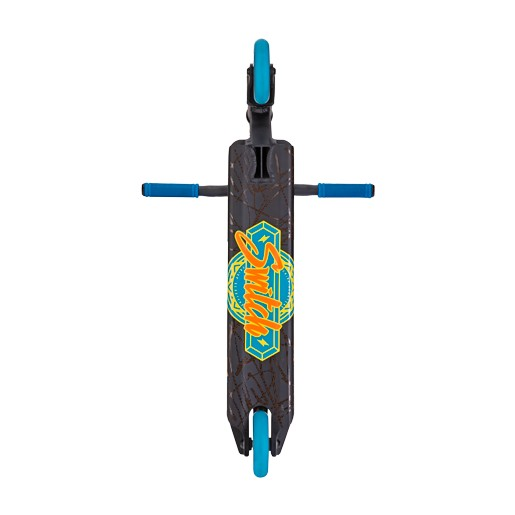 Crisp Switch Scooter Matte Black with Blue