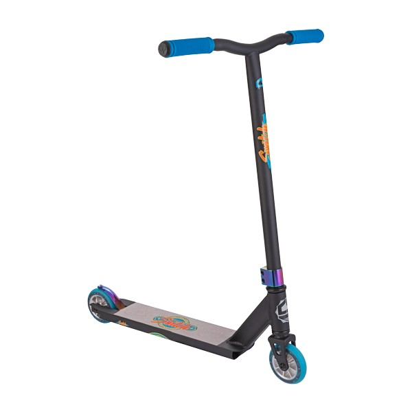 Crisp Switch Complete Scooter Matte Black with Blue