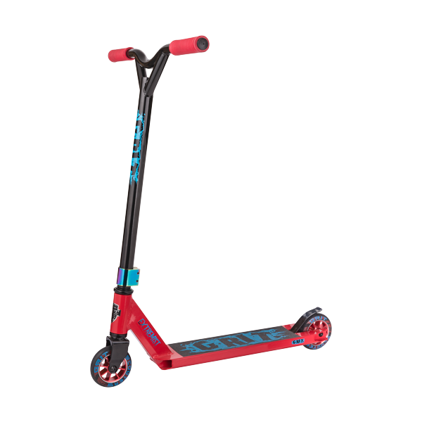 2018 Grit Extremist Scooter Red & Oil Slick