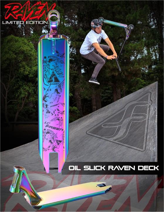 Oil Slick Fasen Raven Deck