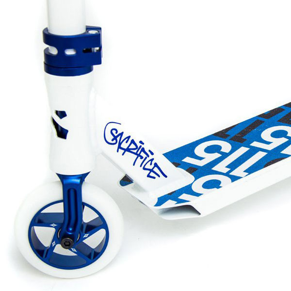 Sacrifice Flyte 115 Blue & White Scooter