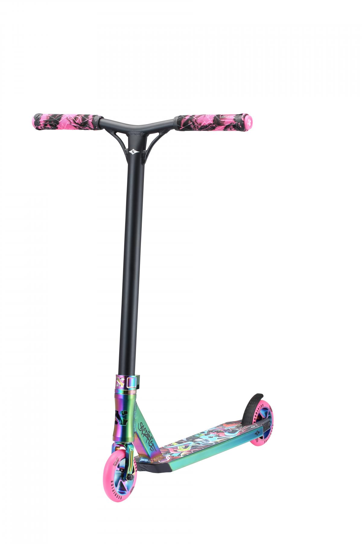 Sacrifice Flyte 100 Neo Pink Graffiti Scooter