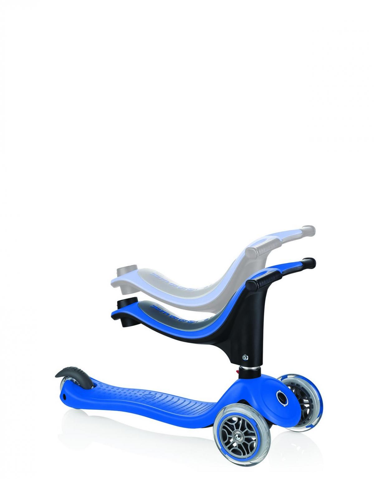 2019 Globber 4 In 1 Scooter with seat height adjustment