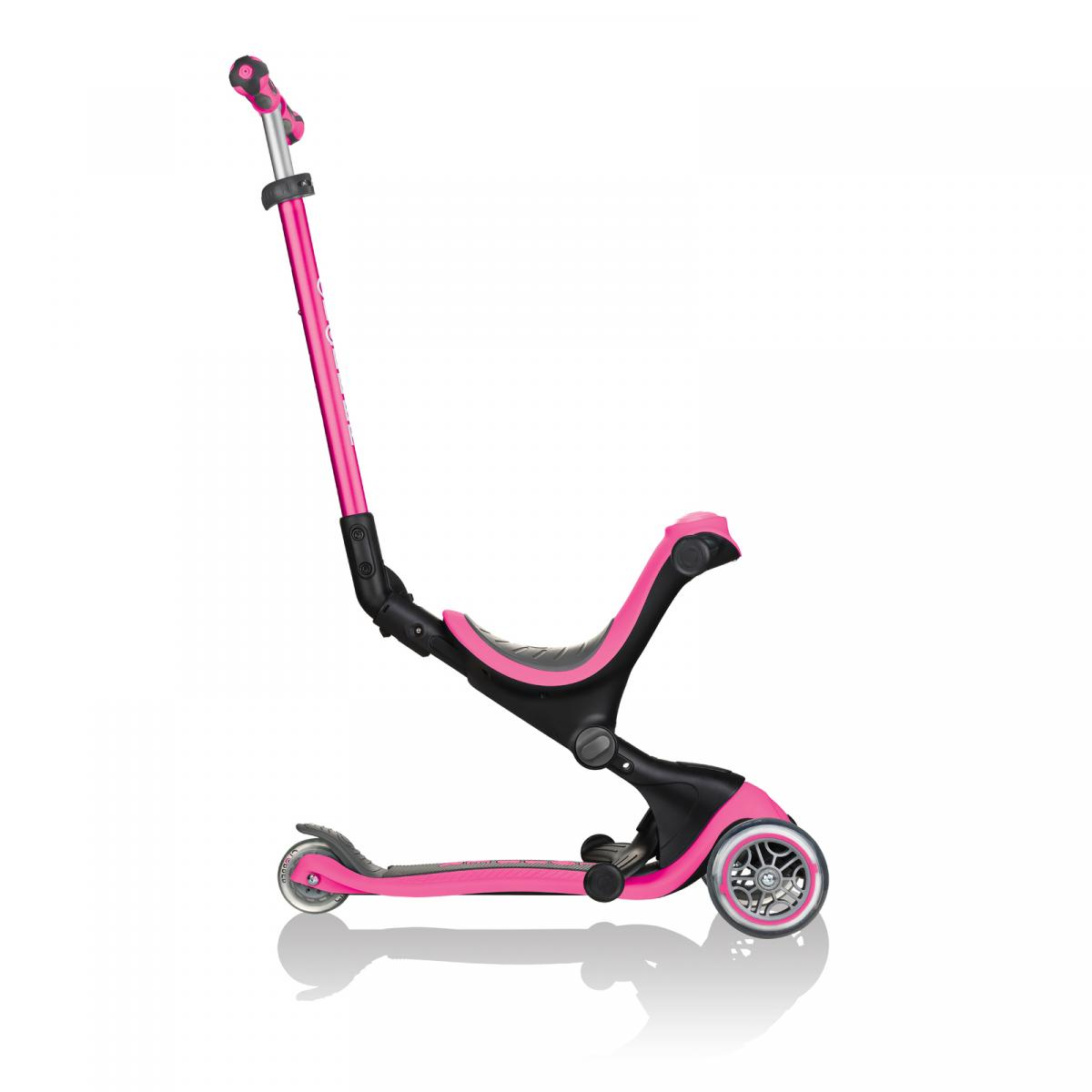 Globber Go Up Deluxe Deep Pink Scooter