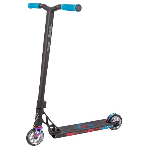 Grit Satin Scooter 2018 Black with blue grips
