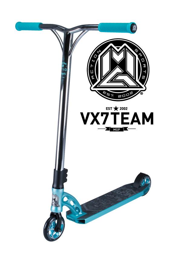 VX7 Team Scooter Teal