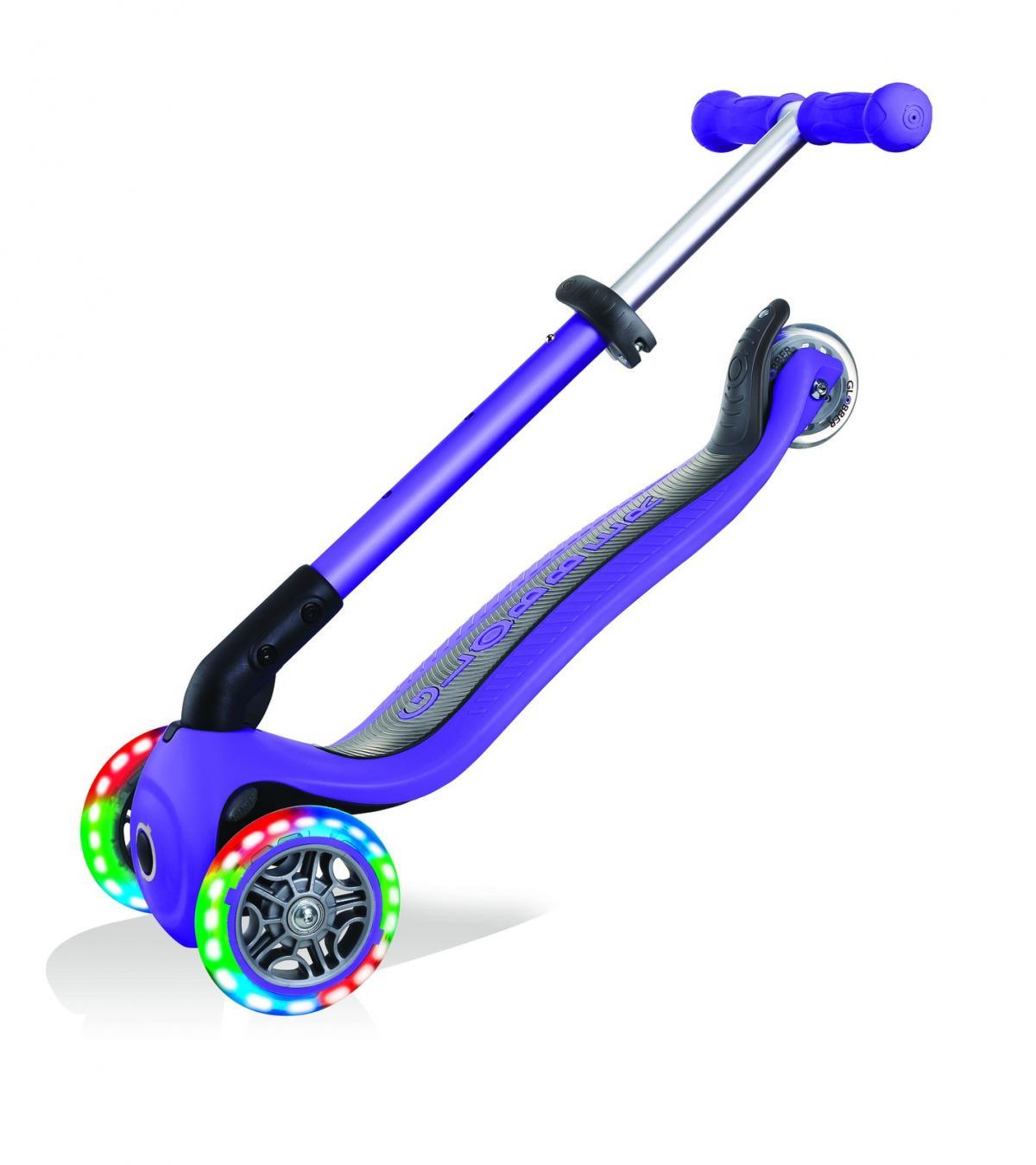 Violet Purple Globber Foldable Scooter