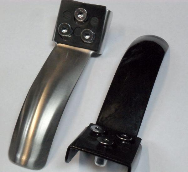 Phoenix, Grit & Crisp Stainless Steel 3 bolt Brake