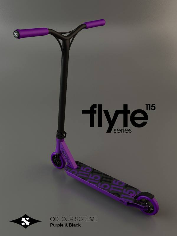 Sacrifice Flyte 115 Scooter Purple