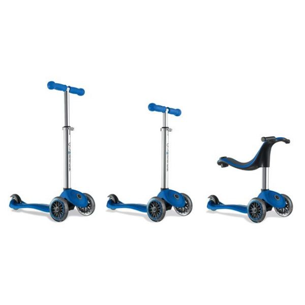 Globber 4 in 1 Kids scooter blue