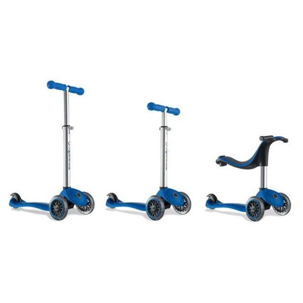 Globber 4 in 1 Kids scooter blue