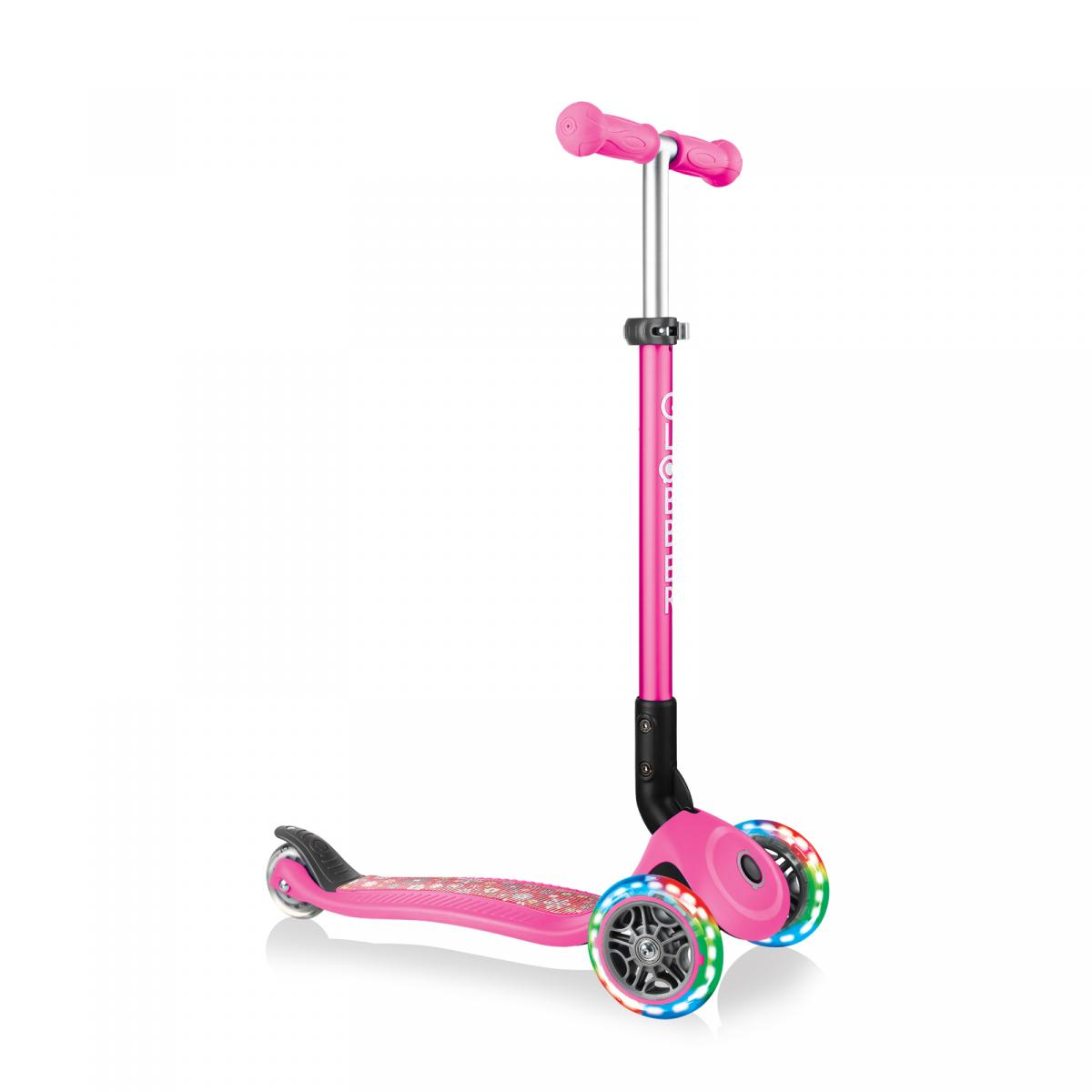 Pink Flowers Globber Scooter
