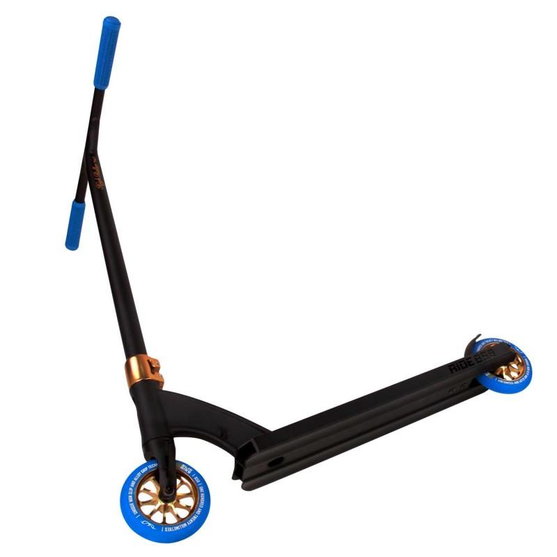 Ride 858 High Roller Black/Gold & Blue