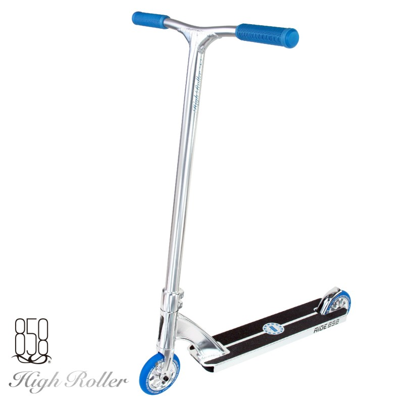 Ride 858 High Roller Polished Silver