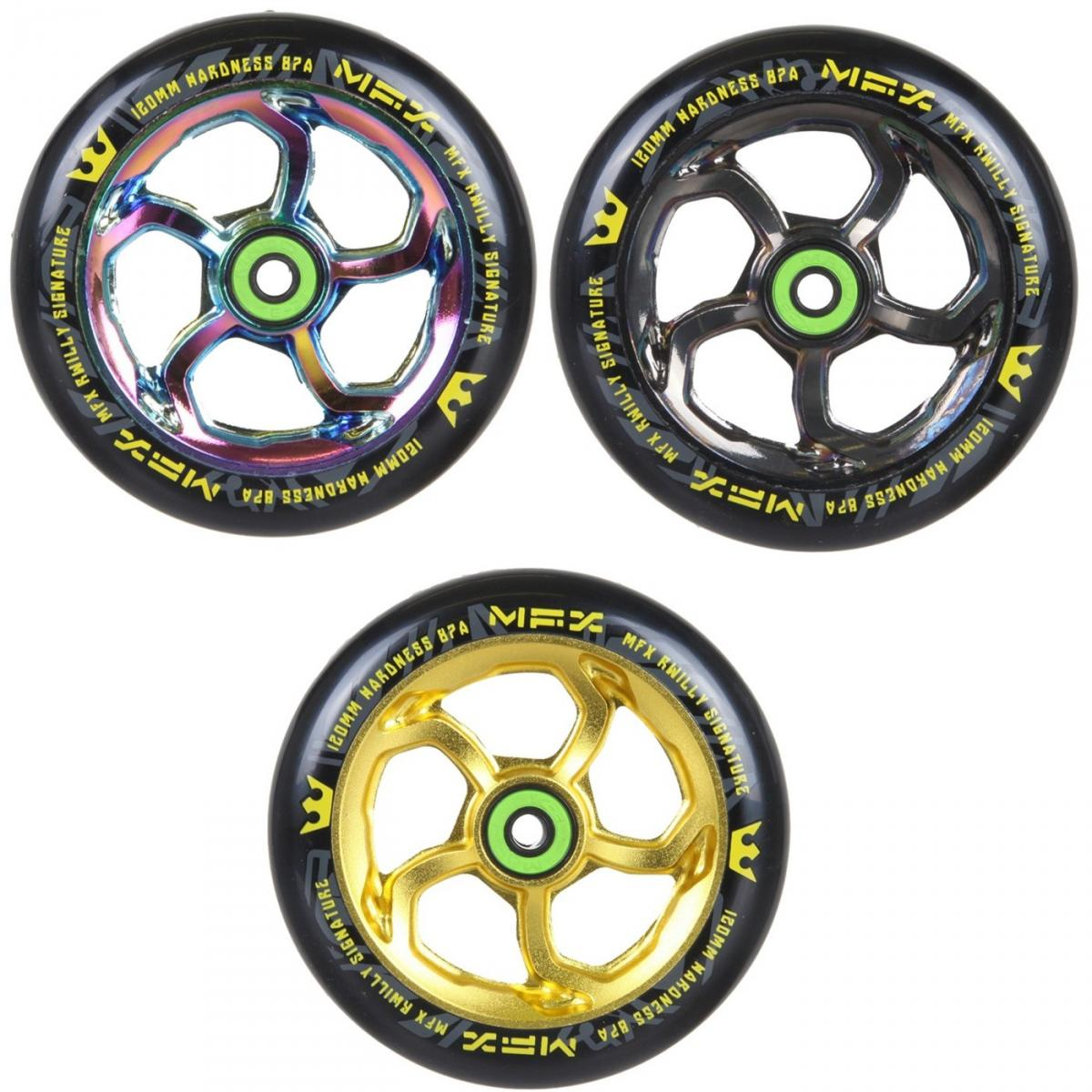 MGP MFX RWilly Hurricane wheels 120mm