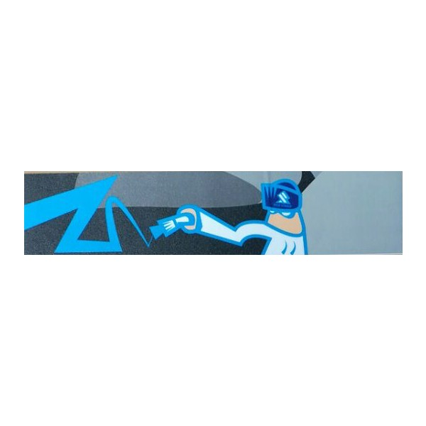 Sole Grip Tape Blue Man